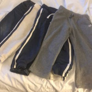 Lot of 3T boys pants. 3 Carters and 1 Baby Gap